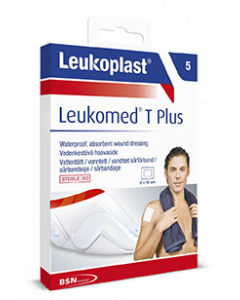 LEUKOPLAST LEUKOMED T PLUS (79954-06) 8CMX10CM 5 KPL