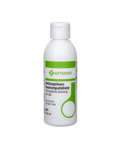Apteekki Antiseptinen haavanpuhdiste flip-top kaatopullo 100 ml