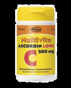 MULTIVITA ASCORBIN LONG 500 MG 100 TABL