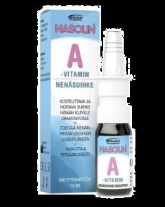 NASOLIN A-VITAMIN NENÄSUIHKE 10 ml