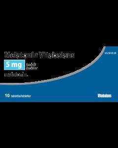 MELATONIN VITABALANS 5 mg tabl 10 fol