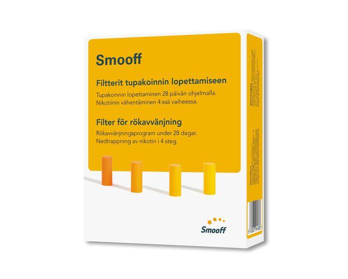 Smooff Filtterit tupakoinnin lopettamiseen 1 kpl